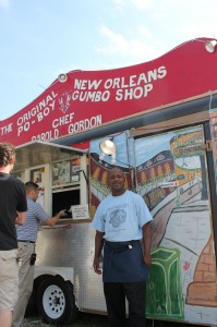 Darold Gordon, the original new orleans po boy and gumbo shop, austin restaurant, tastesliketravel.com, cajun food,