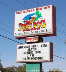 dead dog saloon, myrtle beach, north myrtle beach, grahams landing