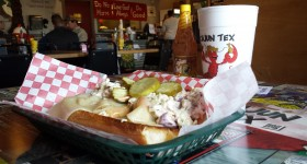 cajun tex restaurant, marshall, texas, tastes like travel, menu