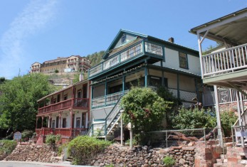 Jerome, az, arizona, ghost tour, bed and breakfast, ghost city inn