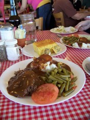 Yummy Pot Roast at the Southwest Diner in Boulder City Nevada