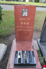 bruce lee grave, seattle, cemetery, brandon lee,