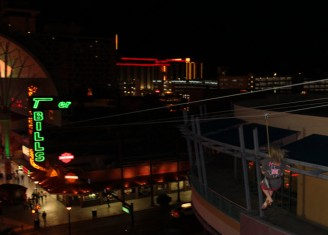 las vegas, fremont street flight line, zip line, zip-line, zipline, tastesliketravel.com, fun things to do,