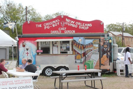 the original new orleans po boy and gumbo shop, austin, texas, cajun food, south congress trailer park, tastes like travel.