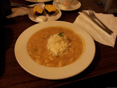 Willie Mae's Scotch House Lima Beans and Roce
