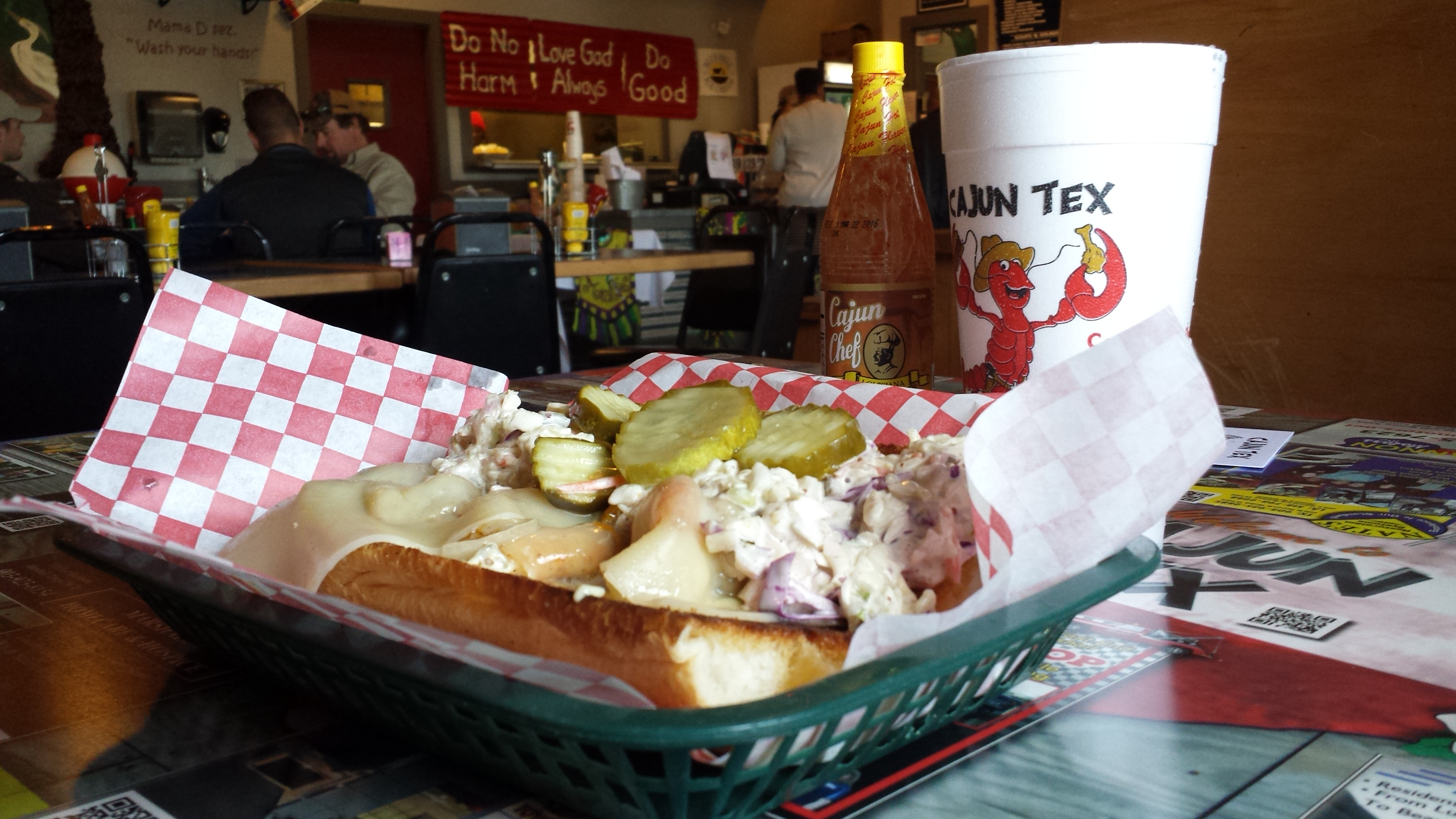 Cajun Tex Restaurant adds flavor to Marshall Texas