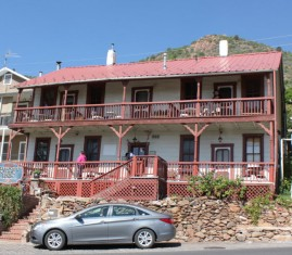 Jerome AZ, Ghost City Inn, Haunted , tastes like travel